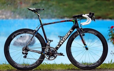 Peter Sagan's World Champion Specialized S-Works Tarmac
