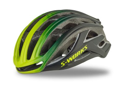 Capacete Specialized S-Works Prevail II Preto/Verde M